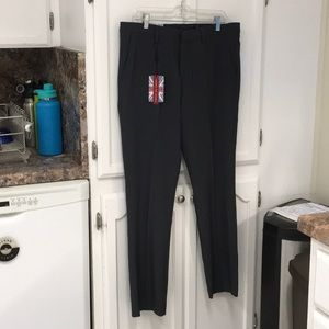 34 x 32 gray English laundry pants new with tags